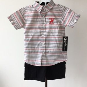Beverly Hills Polo Club Two Piece Set- NWT